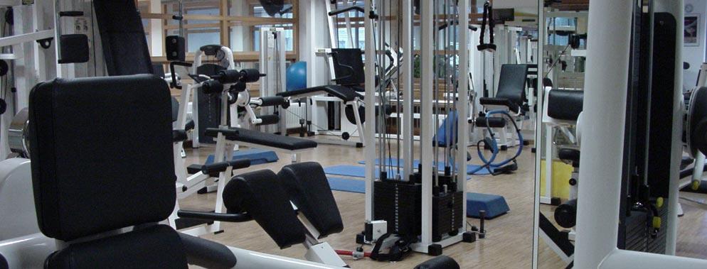 Fitness im Fitnesscenter vom SSV Bruneck
